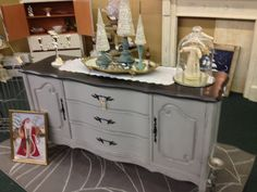 Vintage French Provential Buffet www.facebook.com/thesilvernest484