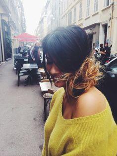 Coiffure Sylvie Pastore pull samsoe samsoe @Capsule Shop