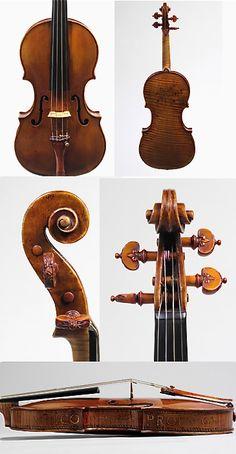 Violin, ca. 1560  Andrea Amati (Italian, ca. 1505–1578)  Italy (Cremona)  Maple, spruce, various other materials
