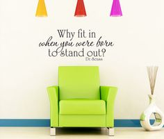 Why fit in when you were born to stand out  Dr by VillageVinePress, $17.95