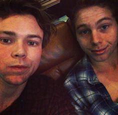 Ashton and Luke
