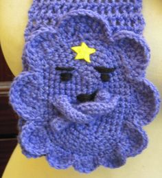 Crochet Lumpy Space Princess from Adventure Time Scarf ...
