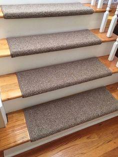 alfa brown 100 wool true bullnose carpet stair tread jmish handmade step cover comfort - Bullnose Stair Tread
