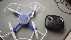 Très content d'avoir reçu mon petit drone de chez #hjtoys. Il ne me reste plus qu'à le tester.  #drone #yuneec #dji #Belgique