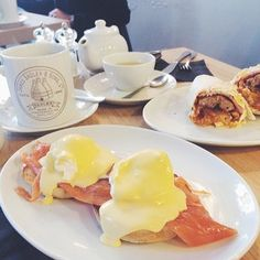 Eggs Montreal at Quay Ingredient.Because the only thing better than ham on eggs Benedict is smoked salmon. Go here for breakfast or lunch: It's a stone's throw away from the Quayside, where you can walk off the food and take in some culture at BALTIC across the River Tyne.