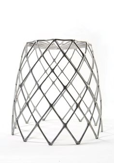 Enrico Bressan, co-founder of Artecnica and an architect by trade, has created a sturdy, lightweight aluminum stool for both indoor and outdoor use. Taking inspiration from the fibrous skeleton of the Staghorn Cholla cactus, the Kaktus Stool is disarmingly delicate, yet capable of supporting great weight.