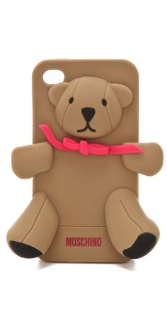 Special Offers Available Click Image Above: Moschino Teddy Bear Iphone Holder
