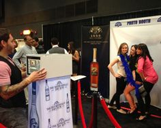 Brugal Rum Photo Station at the Fedway liquor trade show in Atlantic City, NJ!