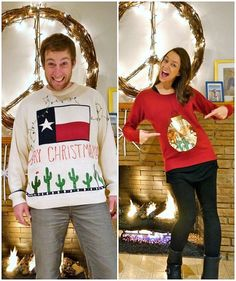 Ugly Christmas Sweater ideas for you and your SO.