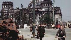 Immagini inedite a colori Com'era Berlino nel 1945