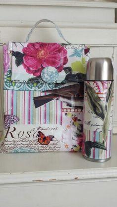 Available@bathartisanmark  may11 cool bag and matching flask