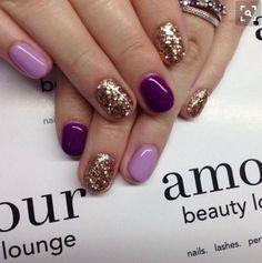 The darker purple color