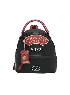 Harry Potter Platform 9 3/4 Mini Faux Leather BackpackHarry Potter Platform 9 3/4 Mini Faux Leather Backpack,