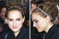 Natalie Portman, Hot Celebrity Hairstyles: Headbands
