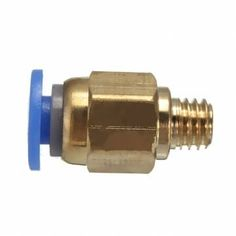 PC4-M6 Pneumatic Straight Fitting Nozzle For 4mm OD Reprap 3D Printer Line Tube