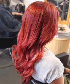 This colour and shine! Making me want to go brighter 😍 . Wavy Hair, Red Hair, Hair Boutique, Auckland, Hair Goals, Hairdresser, Hair Color, Bright, Colour