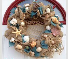 Ocean Theme wreath