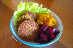 Oasis Urbano BA, hamburguesas de lentejas al curry (vegano / vegan)