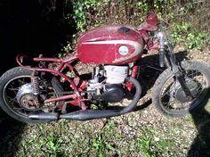 Moto Zanella 180 con fierros de RK. Todo en muy buen estado. Envio a todo el país.