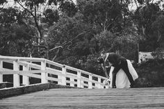 Kat Stanley Photography :: Black and white :: Wedding photography :: Bride :: Groom :: Kiss :: Romance