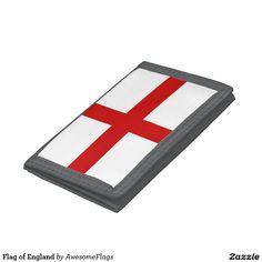 Flag of England Tri-fold Wallet