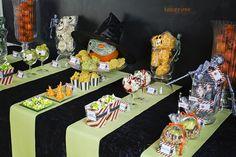 halloween søtsaker dessertbord KL5A5935