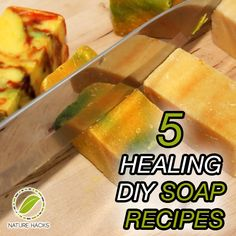5 Healing Homemade Soap Recipes -You may think of them as simple cleaning agents for your body that help remove all the dirt and grime that your skin picks up after a long day at work, but there's actually a lot more to soaps than just that. Composed of the right ingredients, soaps can also have certain healing properties than improve health and wellbeing.