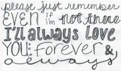 forever and always | parachute