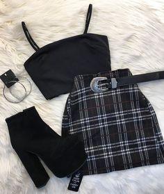 Outfit November 07 2019 at fashion-inspo Teen Fashion Outfits, Mode Outfits, Girly Outfits, Retro Outfits, Look Fashion, Korean Fashion, Fashion Tape, School Outfits, Fashion Clothes
