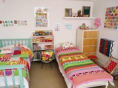 Polly's Bold & Colorful Retro Room