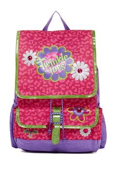 Light-Up Twinkle Toes Backpack