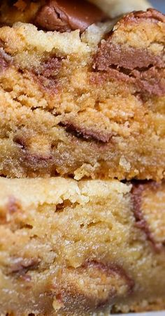 Peanut Butter Cup Blondies - Dessert Recipes for Kids