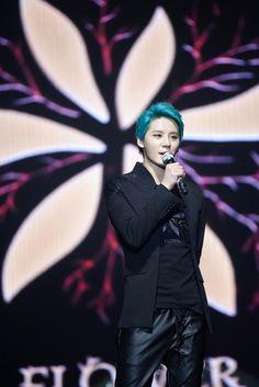 [HQ (KR) PRESS PICS] 150321 XIA Junsu 3rd Asia Tour Concert 'FLOWER' in Bangkok: Press Conference & Concert | JYJ3