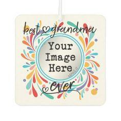#Best Grandma Ever Car Air Freshener - #birthday #gift #present #giftidea #idea #gifts