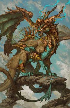 2015 Zodiac Dragons Sagittarius, Christina Yen on ArtStation at https://www.artstation.com/artwork/2015-zodiac-dragons-sagittarius