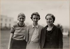 Student Body officers, Martha Trimble -- Lois Staver. 1934. UHPC, University Archive, Archives and Special Collections, CSU, Fort Collins, CO