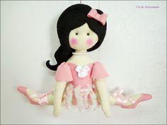 Bailarina - moldes Crys Altran