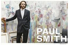 painted background/colours  Paul Smith SS2008   Julian Broad/Andy Hillman