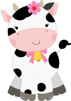 Cute Farm for Girls Clip Art. Party Animals, Farm Animal Party, Farm Party, Clip Art, Cow Birthday, Girls Clips, Farm Theme, Cute Images, Baby Quilts