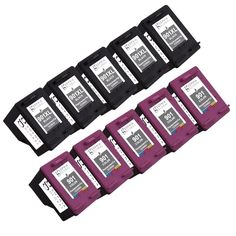 Refurbished Sophia Global Remanufactured Ink Cartridge Replacement for HP 901XL and 901 with Ink Level Display