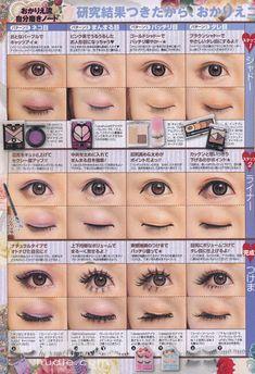 Gyaru Hair, Gyaru Makeup, Cute Eye Makeup, Doll Makeup, Asian Makeup, Cosplay Makeup Tutorial, Popteen, Alternative Makeup, Japanese Makeup