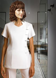 TUNICA ORIENTAL Chef Jackets, Fashion, Work Wear, Blouses, Moda, Fashion Styles, Fashion Illustrations