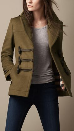 Burberry Toggle Coat ...:D