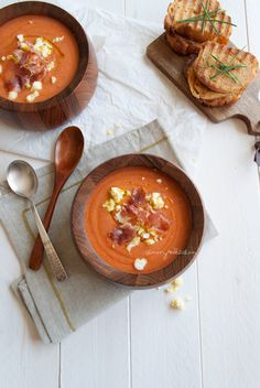 Chilled Tomato Soup | In My Red Kitchen
