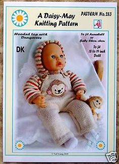 Daisy May Dolls Knitting Patterns : ????? ?????? on Pinterest Baby Born, Knitting Patterns and Doll Clothes
