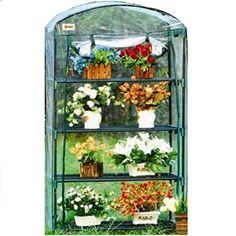 5c49537bef7 Green Garden 4 Tier Mini Hot House W Shelves 35