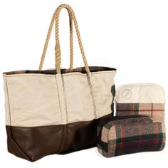 Sea Bags uses only recycled sails from Maine for its durable, handmade totes and accessories.
