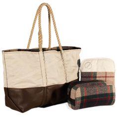 Sea Bags / Woolrich - Perfect Fall Weekender Set