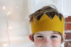 Handmade Felted Wool Crown