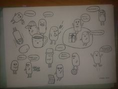 Doodle peoples